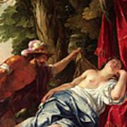 Mars And The Vestal Virgin Poster