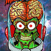 Mars Attacks Poster by Gary Niles