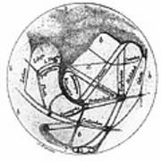 Mars: Schiaparelli, 1877 Poster