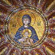 Blessed Virgin Mary And The Child Jesus Poster