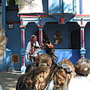 Maryland Renaissance Festival - A Fool Named O - 121230 Poster by DC Photographer