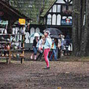 Maryland Renaissance Festival - A Fool Named O - 121231 Poster by DC Photographer