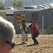 Maryland Renaissance Festival - Jousting And Sword Fighting - 1212213 Poster by DC Photographer