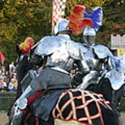 Maryland Renaissance Festival - Jousting And Sword Fighting - 121246 Poster by DC Photographer