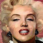 Marylin Monroe Poster by James Shepherd