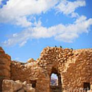 Masada Fortress Poster