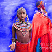 Masai Poster
