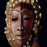 Mask From Ivory Coast Poster