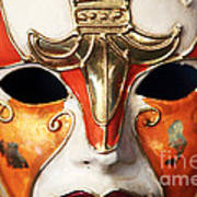 Mask Poster by John Rizzuto