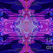 Mastering Universal Ideals Abstract Healing Artwork By Omaste Witkowski Poster