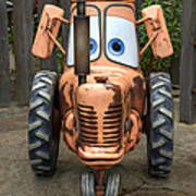 Mater's Tractor Poster