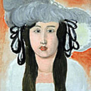 Matisse's The Plumed Hat Poster