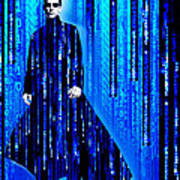 Matrix Neo Keanu Reeves 2 Poster