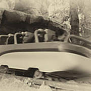 Matterhorn Bobsled Fantasyland Disneyland Heirloom Poster