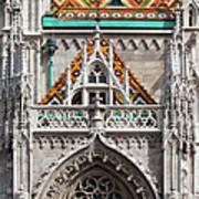 Matthias Church In Budapest Poster