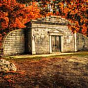 Mausoleum Poster by Bob Orsillo