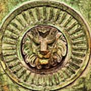 Mausoleum Lion Poster