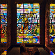 Mausoleum Stained Glass 01 Poster