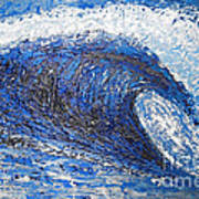 Mavericks Wave Poster by RJ Aguilar