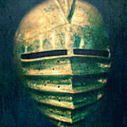 Maximilian Knights Armour Helmet Poster by Edward Fielding