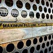 Maximum Fill Poster