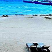 May Beach At Mackinaw Poster