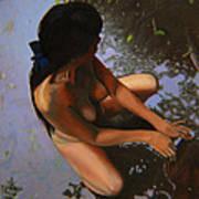 May Morning Arkansas River Poster