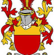 Mccarron Coat Of Arms Irish Poster