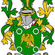 Mcconville Coat Of Arms Irish Poster