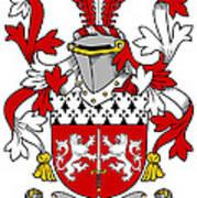 Mccorcoran Coat Of Arms Irish Poster