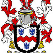 Mccormick Coat Of Arms Irish Poster
