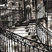 Mccormick Mansion Staircase Poster