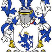 Mccrery Coat Of Arms Irish Poster