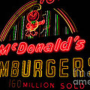 Mcdonalds Sign Poster