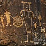 Mckee Ranch Petroglyphs Poster