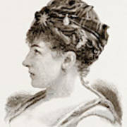Mdme. Marie Roze, Of Her Majestys Opera Poster