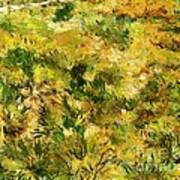 Meadow After Van Gogh Poster