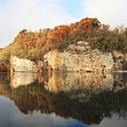 Mead's Quarry In Autumn Poster