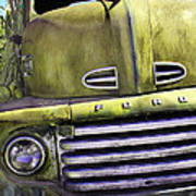 Mean Green Ford Truck Poster