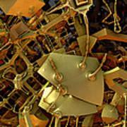 Mechanical Olfactory Receptors.  2012  52/90 Cm. Poster