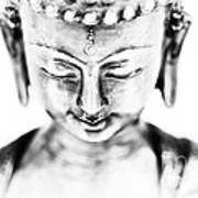 Medicine Buddha Monochrome Poster