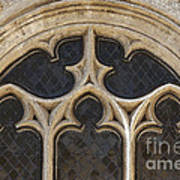 Medieval Church Window Ornaments Poster