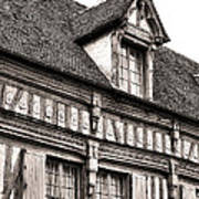 Medieval House Poster