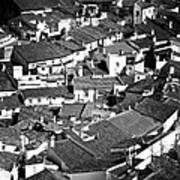 Medieval Town Rooftops Poster by Jose Elias - Sofia Pereira