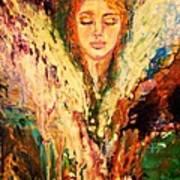 Meditation Poster by Alma Yamazaki