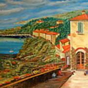 Mediterrean Coast Poster