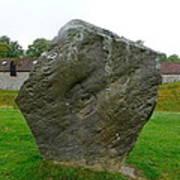 Megalith At Avebury Poster