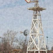 Megan's Windmill Poster