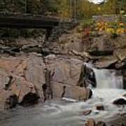 Meigs Falls In Autumn Poster