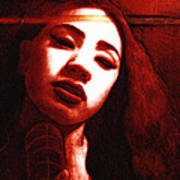 Meisi 2 Poster by Teleita Alusa